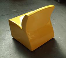 Ecopelle gialla